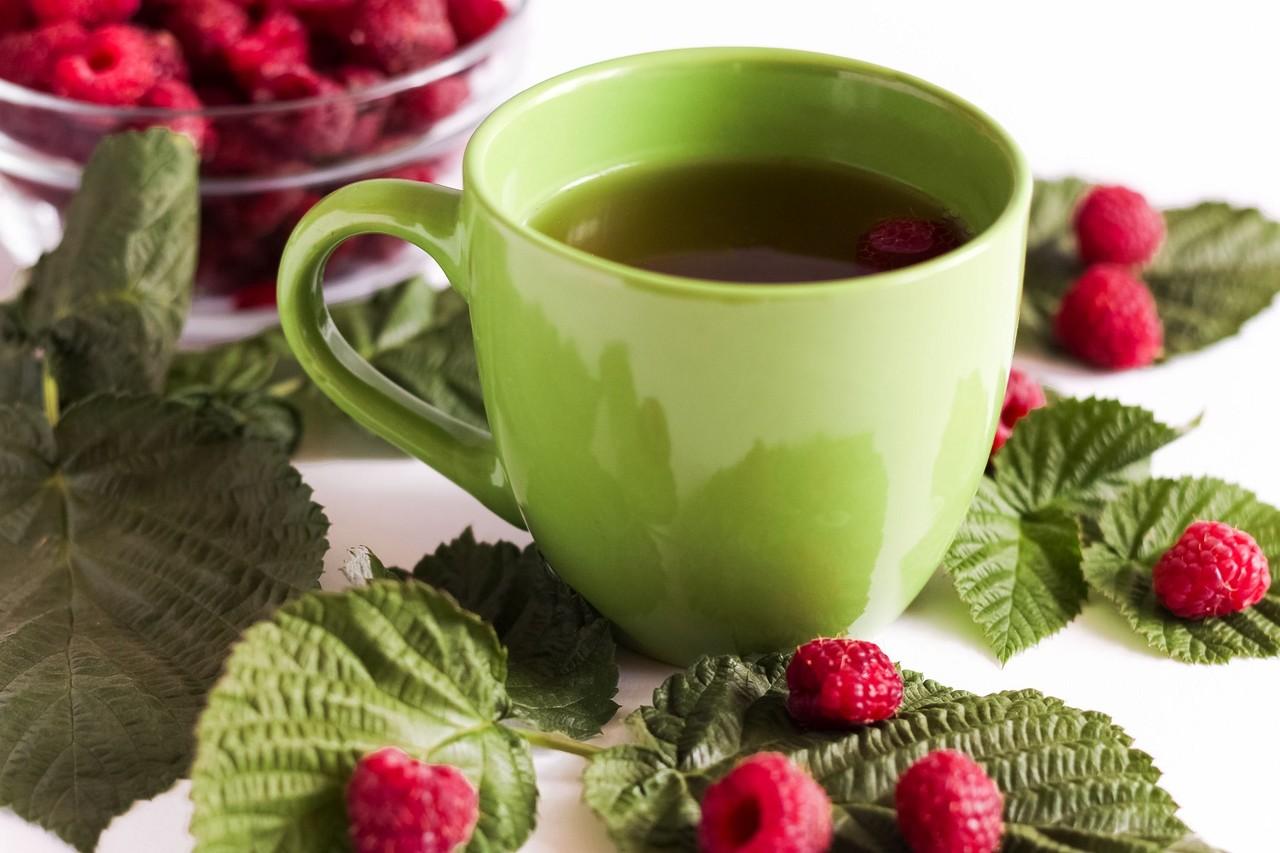 thé framboise